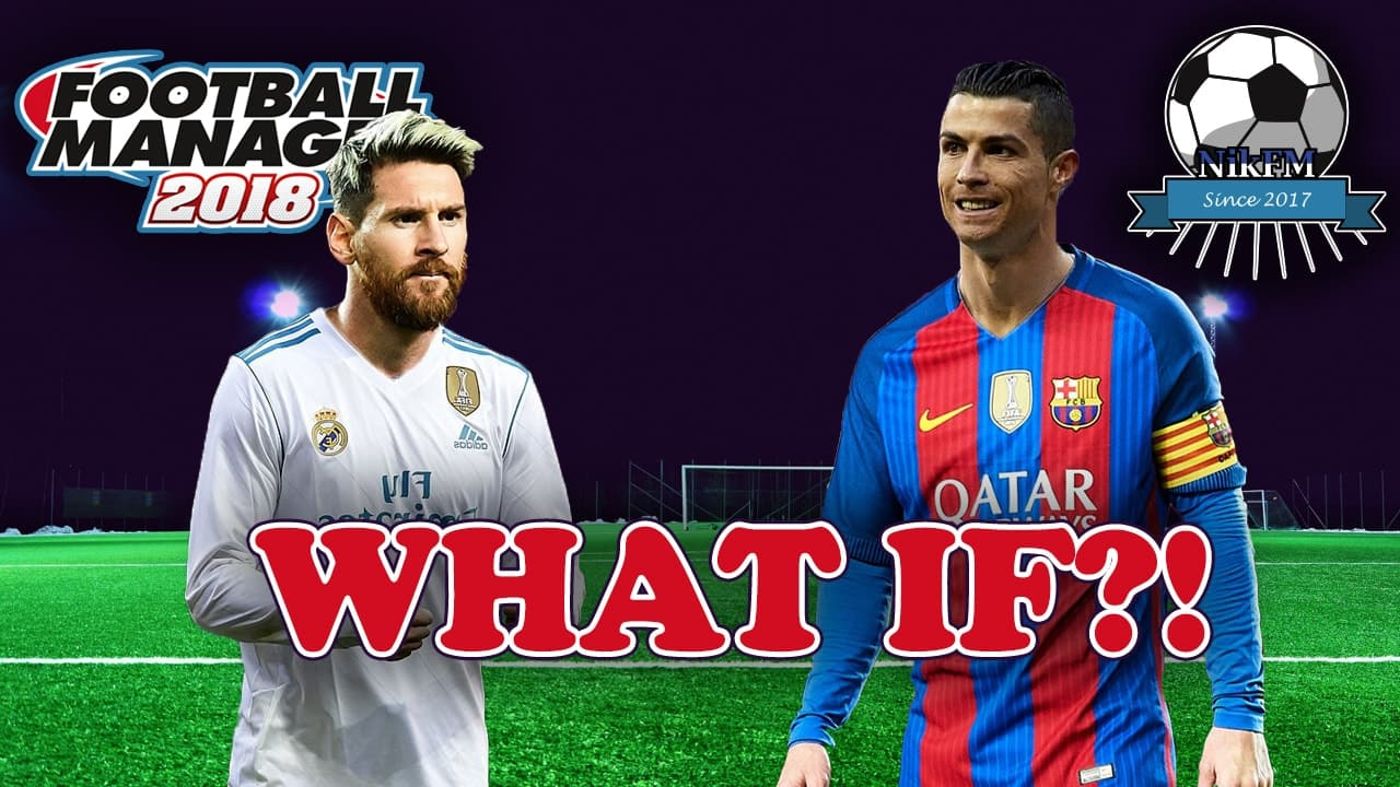 Ronaldo and Messi swapped teams