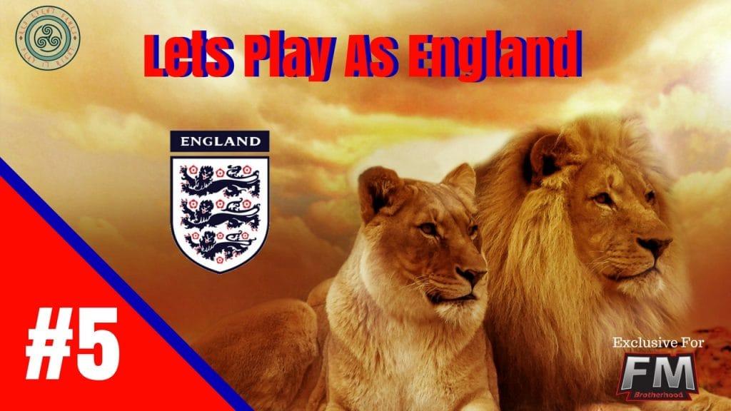 The World Cup - England FM 18 The World Cup England - Denmarkm england dr congo fm18