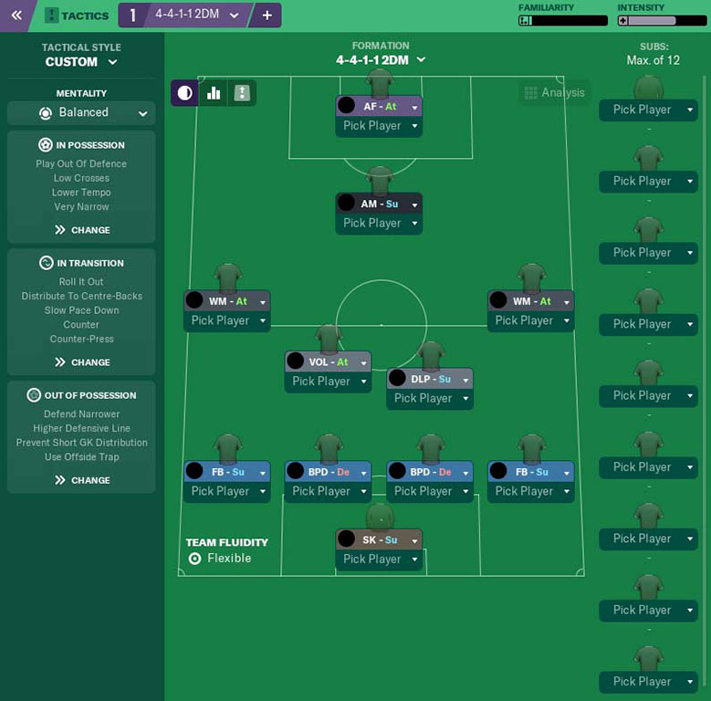 the best football manager 2019 tactic