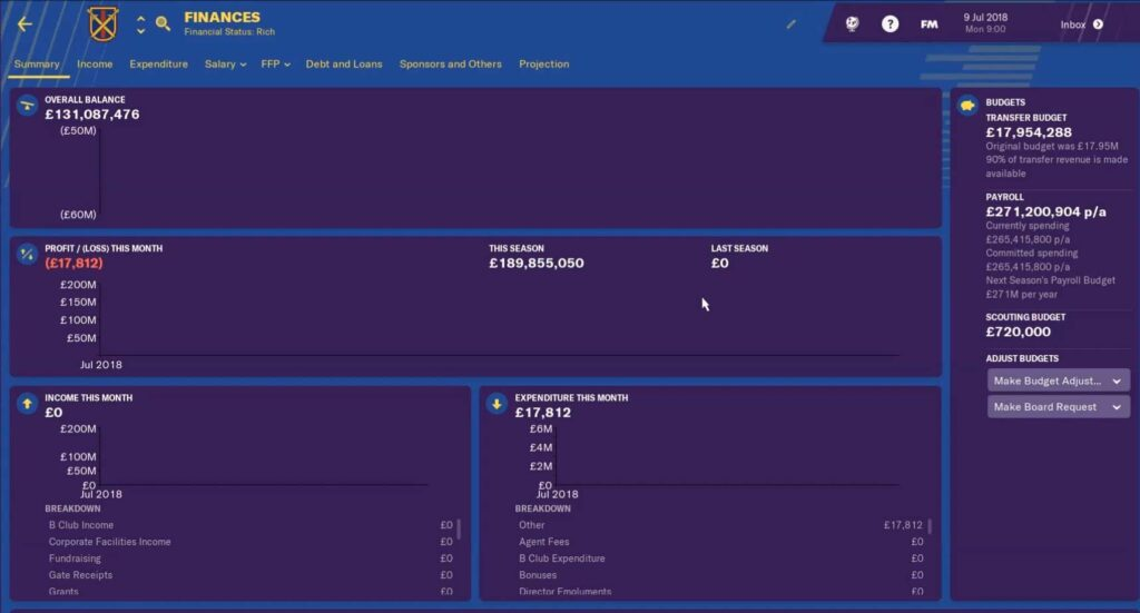 barcelona fm19 finances - football manager 2019 barcelona finances