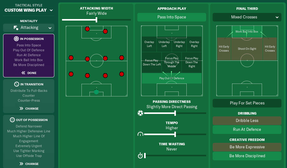 Great 4-4-2 FM19 Tactic That Will Make You the King