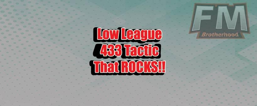 low league fm19 tactics