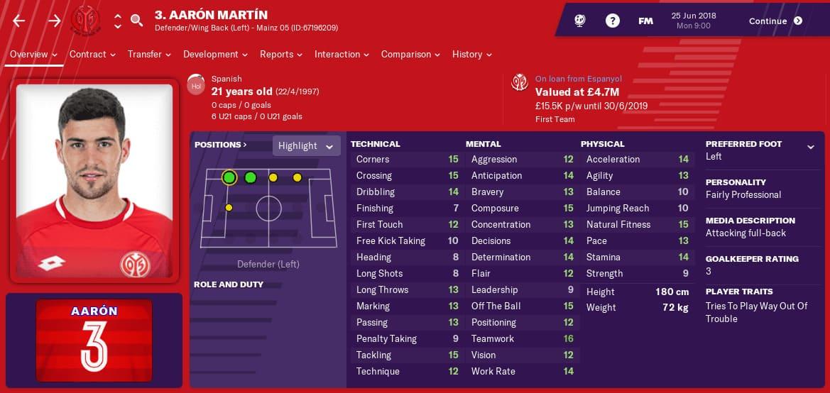 aaron martin fm19