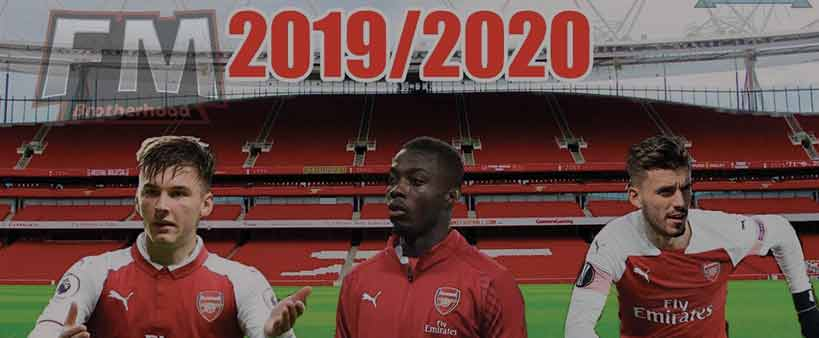 arsenal in football manager 2020