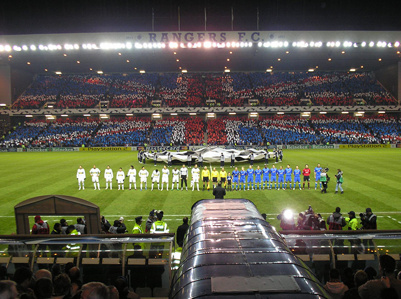 glasgow rangers in football manager 2020