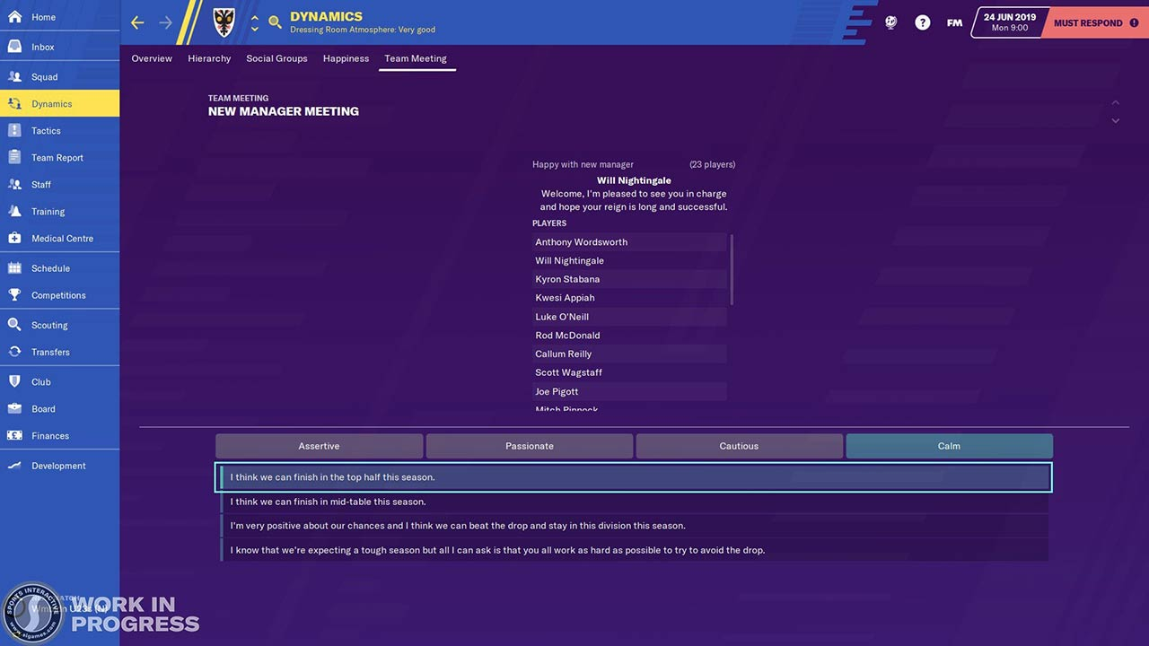 confirmed new feature football manager 2020