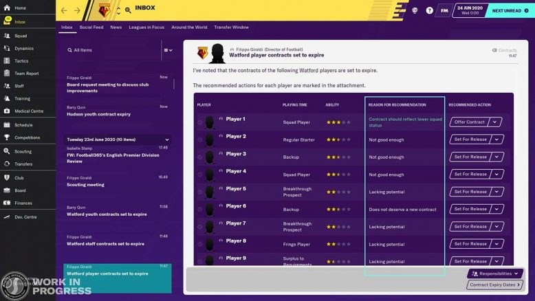 renewing contracts information football manager 2020 new feature