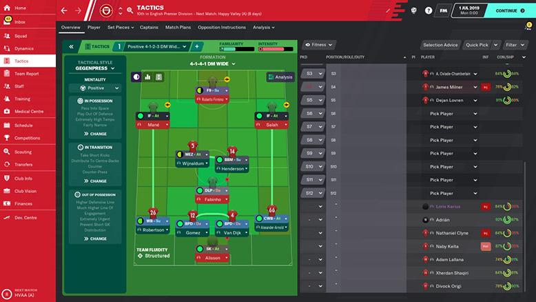 liverpool tactics fm20