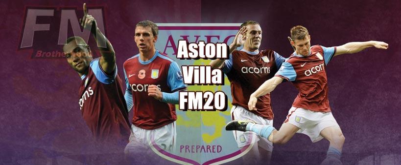 aston villa fm20 team guide