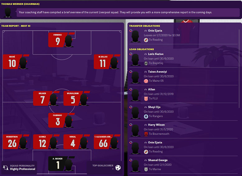 the best 11 fm20 liverpool