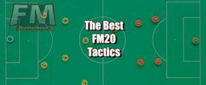 best fm20 tactics