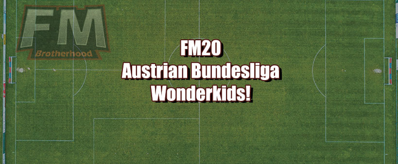 Austrian Bundesliga FM20 Wonderkids List