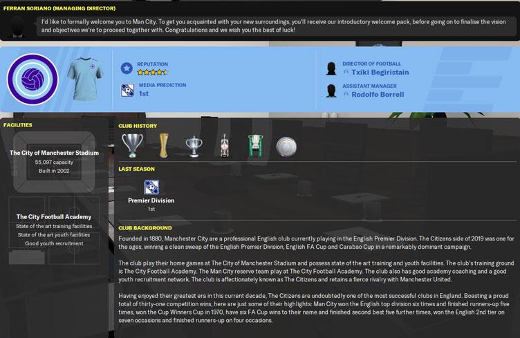 man city fm20 team history - man city team history 2020 - manchester city football manager 2020 team history - man city football manage 2020 team history