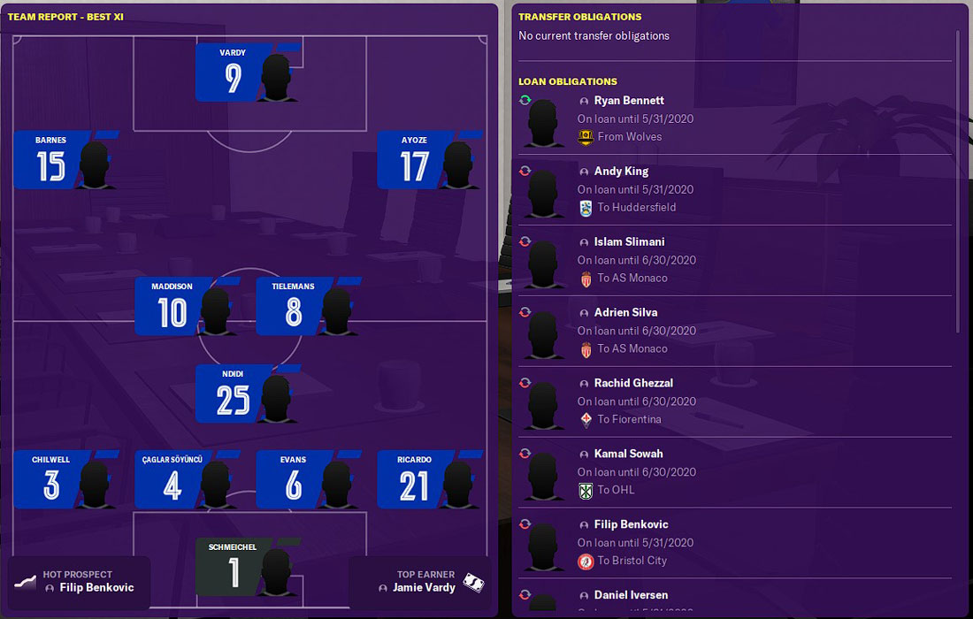 best fm20 leicester players
