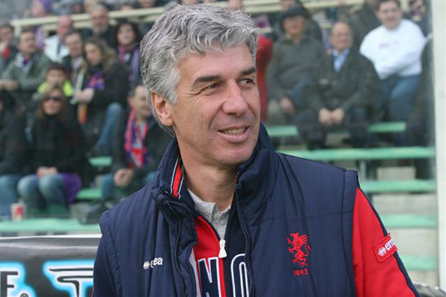 piero gasperini - atalanta football manager - atalanta coach