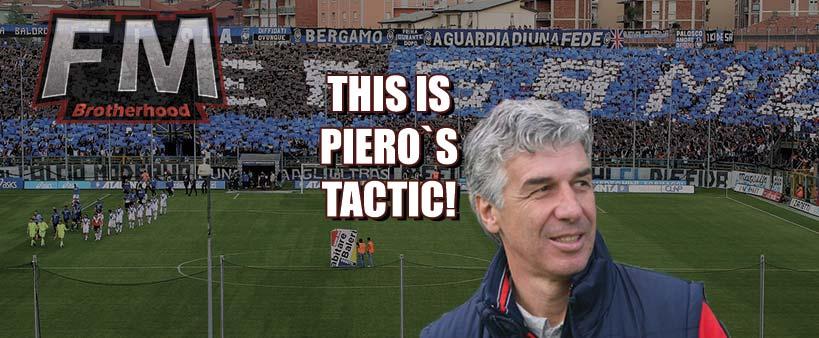 atalanta fc piero gasperini tactic remake fm20